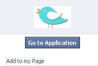Add application to page