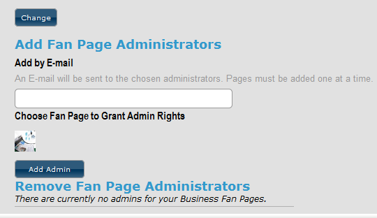 add admin to monitor your page alerts in mediafeedia