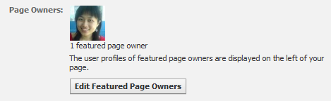 feature page admin