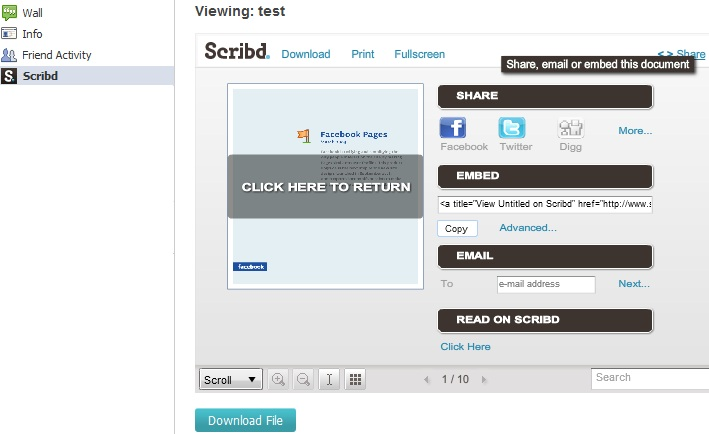 Scribd for Pages